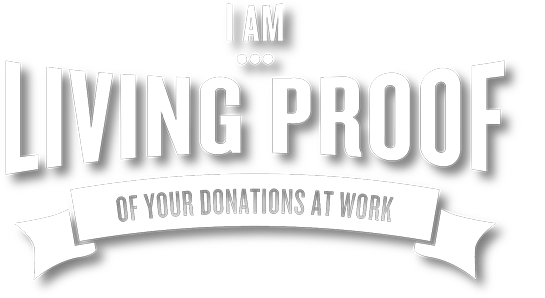 I am Living Proof logo